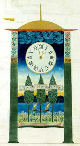 Voysey design for a clock