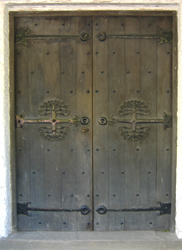 Door at Perrycroft